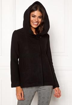 Jacqueline de Yong Eva Wool Jacket Black Bubbleroom.dk