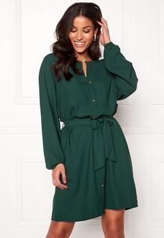 Jacqueline de Yong Evelyn L/S Dress Ponderosa Pine Bubbleroom.dk