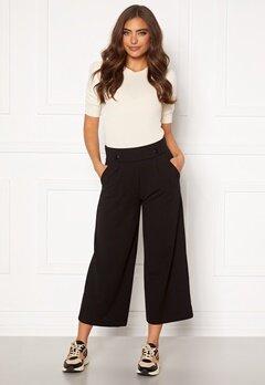 Jacqueline de Yong Geggo New Ancle Pants Black Bubbleroom.dk