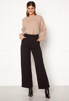 Jacqueline de Yong Geggo New Long Pants Black Bubbleroom.dk