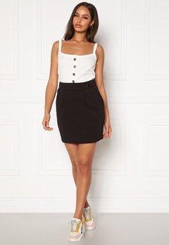 Jacqueline de Yong Geggo Skirt JRS Black Bubbleroom.dk