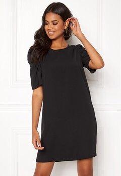 Jacqueline de Yong Ingrid 2/4 Short Dress Black Bubbleroom.dk