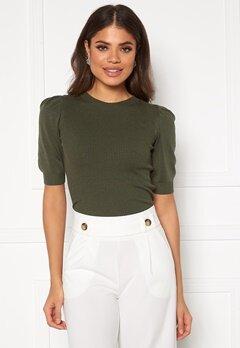 Jacqueline de Yong Lady S/S Pullover Knit Kalamata Bubbleroom.dk