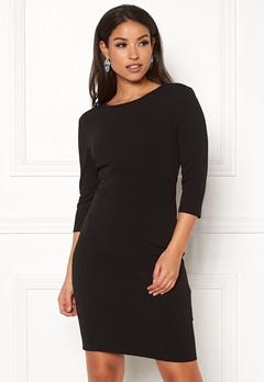 Jacqueline de Yong Lauren 3/4 Dress Black Bubbleroom.dk
