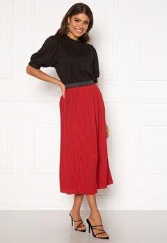 Jacqueline de Yong Paris Skirt Scarlet Sage Bubbleroom.dk