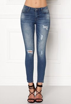 Jacqueline de Yong Skinny Low Magic Jeans Light Blue Denim Bubbleroom.dk