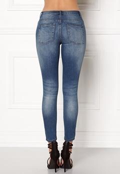 Jacqueline de Yong Skinny Low Magic Jeans Light Blue Denim Bubbleroom.dk