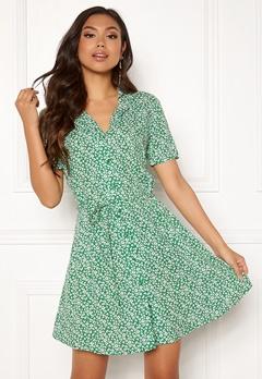 Jacqueline de Yong Star S/S Shirt Dress Medium Green Bubbleroom.dk