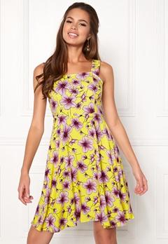Jacqueline de Yong Victory Strap Dress Lemon Zest Bubbleroom.dk