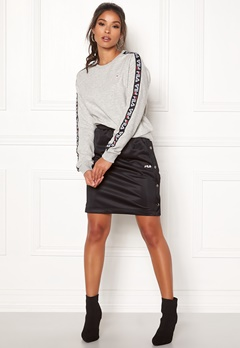 FILA Jenna Buttoned Skirt Black Bubbleroom.dk
