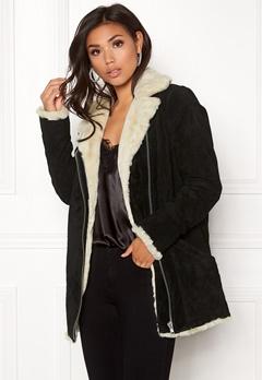 JOFAMA Irma Jacket Black Bubbleroom.dk