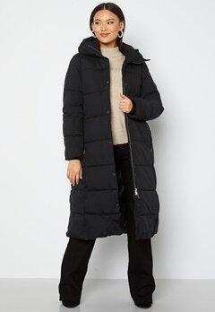 JOFAMA Savannah Long Puffer Coat 00 Black bubbleroom.dk