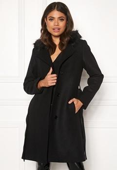 JOFAMA Sophia Coat 00 Black Bubbleroom.dk