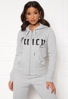 Juicy Couture Core Gothic Jacket HTR Cozy Bubbleroom.dk