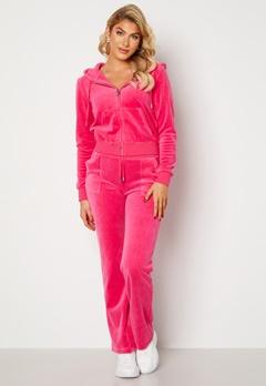 Juicy Couture Cotton Rich Del Ray Pant Raspberry Rose Bubbleroom.dk