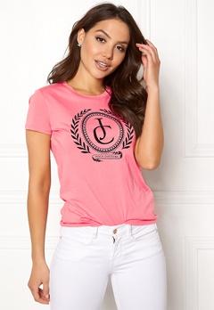 Juicy Couture JC Laurel Tee Sorbet Pink Bubbleroom.dk