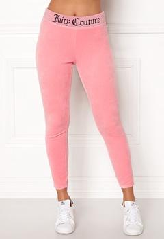 Juicy Couture Juicy Jacquard Legging Sorbet Pink Bubbleroom.dk