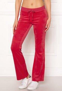 Juicy Couture Luxe Velour Del Rey Pant Cherry Top Bubbleroom.dk