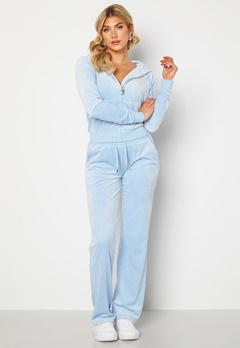 Juicy Couture Numeral Del Ray Pants Powder Blue Bubbleroom.dk