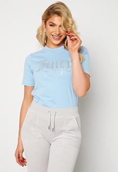 Juicy Couture Numeral T-Shirt Powder Blue Bubbleroom.dk