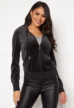 Juicy Couture Traditional Logo Jacket Pitch Black Bubbleroom.dk