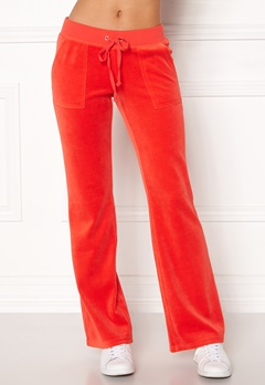 Juicy Couture Velour Del Rey Pant City Rouge Bubbleroom.dk