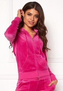 Juicy Couture Velour Robertson Jacket Raspberry Pink Bubbleroom.dk