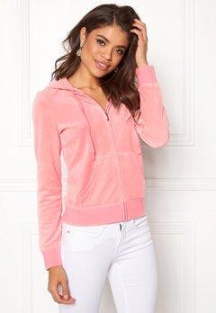 Juicy Couture Velour Robertson Jacket Sorbet Pink Bubbleroom.dk