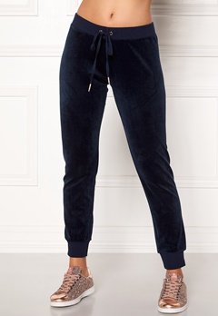 Juicy Couture Velour Zuma Pant Royal Navy Bubbleroom.dk
