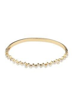 SNÖ of Sweden Kairo Small Oval Bracelet Gold/Clear Bubbleroom.dk