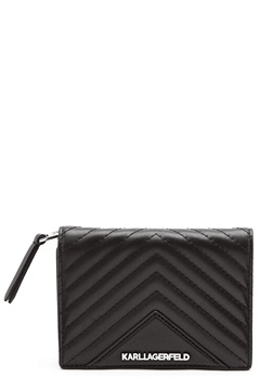 Karl Lagerfeld Classic Quilted Wallet Black Bubbleroom.dk