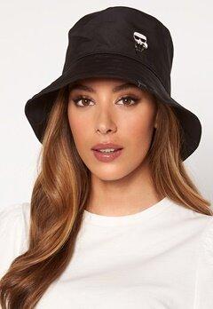 Karl Lagerfeld Ikonik Bucket Hat A999 Black Bubbleroom.dk