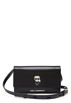 Karl Lagerfeld Ikonik Pin Woc Bag 999 Black Bubbleroom.dk