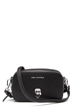 Karl Lagerfeld Metal Pin Camera Bag 999 Black Bubbleroom.dk