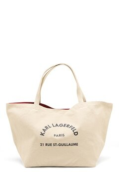 Karl Lagerfeld Rue St Guillaume Canvas 106 Natural Bubbleroom.dk