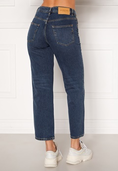 SELECTED FEMME Kate HW Stright Inky Jeans Medium Blue Denim Bubbleroom.dk