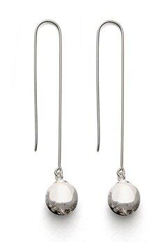 Gynning Jewelry Kettlebell Earring Silver Bubbleroom.dk