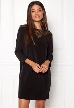Jacqueline de Yong Kira 7/8 Lace Dress Black Bubbleroom.dk