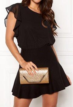 Koko Couture Stella Glitter Bag Light Gold Bubbleroom.dk