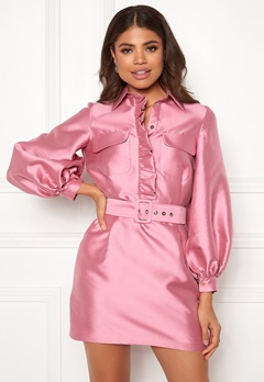 LARS WALLIN Workwear Dress Pink Bubbleroom.dk
