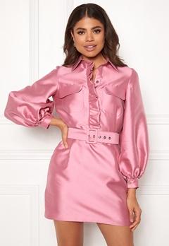 LARS WALLIN Workwear Dress Pink Bubbleroom.dk