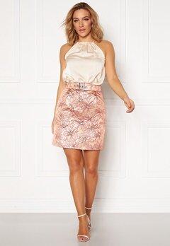 LARS WALLIN Workwear Skirt Pink Metallic Bubbleroom.dk