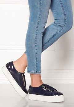 Superga Leapatent Sneaker Navy Bubbleroom.dk