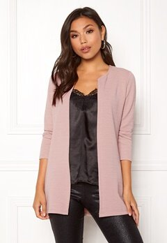 ONLY Leco 7/8 Long Cardigan Adobe Rose Bubbleroom.dk