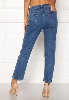 LEVI'S 501 Crop Jeans 0073 Jive Stonewash Bubbleroom.dk