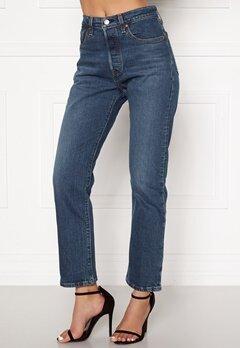 LEVI'S 501 Crop Jeans 0094 Charleston All Bubbleroom.dk