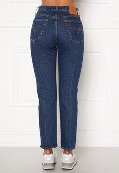 LEVI'S 501 Crop Jeans 0126 Charleston Pres Bubbleroom.dk