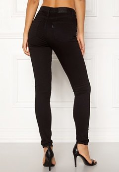 LEVI'S 720 Hirise Super Skinny Jeans 0000 Black Galaxy Bubbleroom.dk
