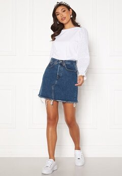LEVI'S Hr Decon Iconic Bf Skirt 0009 Meet In The Mid Bubbleroom.dk