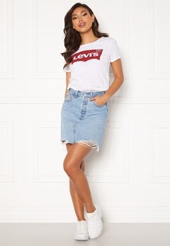 LEVI'S Hr Decon Iconic Bf Skirt 0040 Luxor Heat Skir Bubbleroom.dk